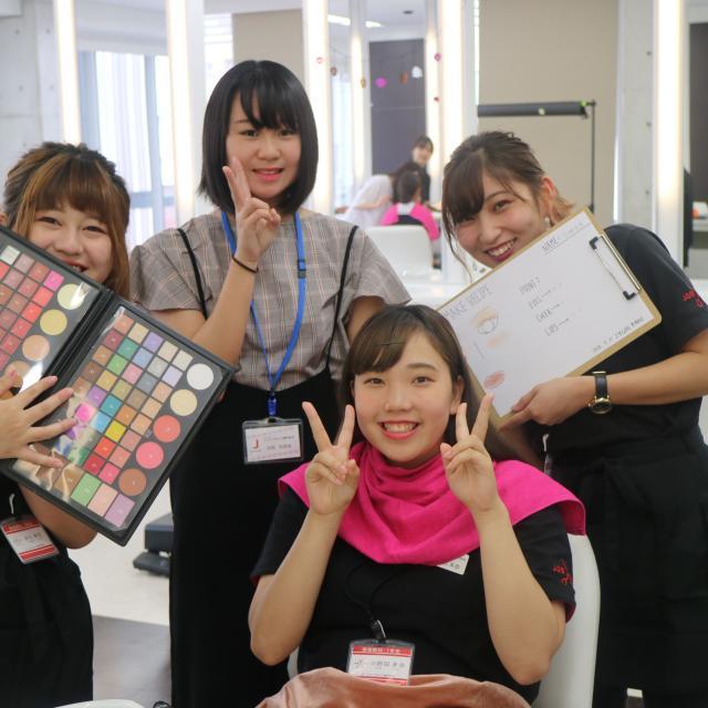 ジェイ ヘアメイク専門学校 12/1(土)ジェイで選べる美容学生体験(メイク&まつエク)3