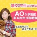 大阪ECO動物海洋専門学校 高校2年生のための、AO入学制度まるわかり説明会