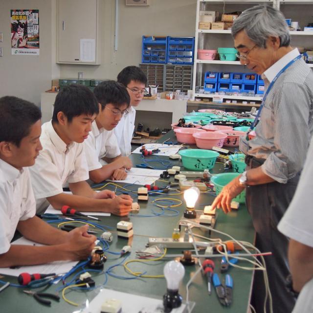 金沢科学技術大学校 社会を支える電気エンジニアになろう!【電気エネルギー工学科】2