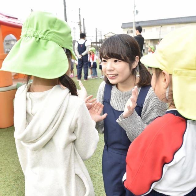 大阪健康ほいく専門学校 子どもたちの先生体験★2