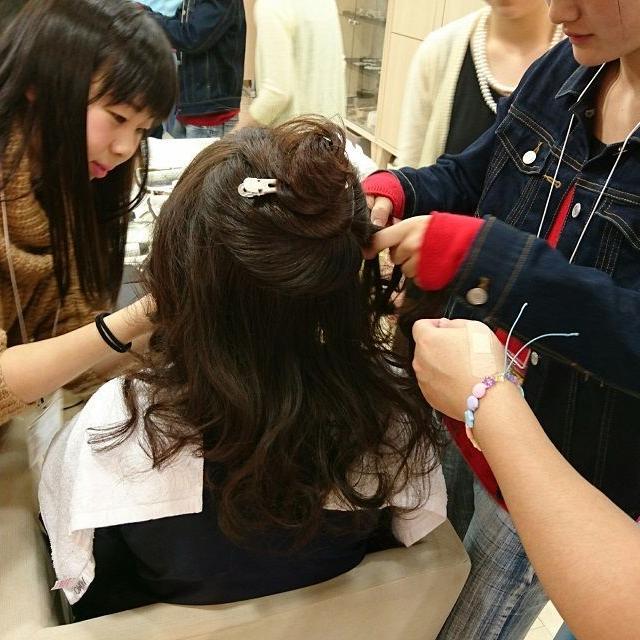 横浜ビューティー&ブライダル専門学校 【ブライダル】ウェディングドレスを着れる☆高校2年生も歓迎♪3