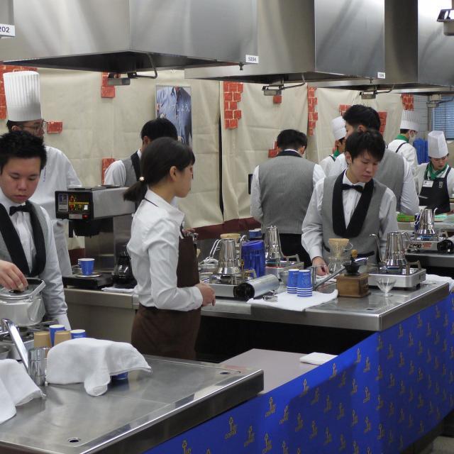 新宿調理師専門学校 1月20日・27日第48回調理祭4