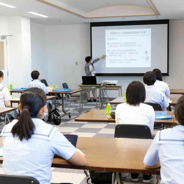 弘前学院大学 2021年度第1回オープンキャンパス(看護学部)2