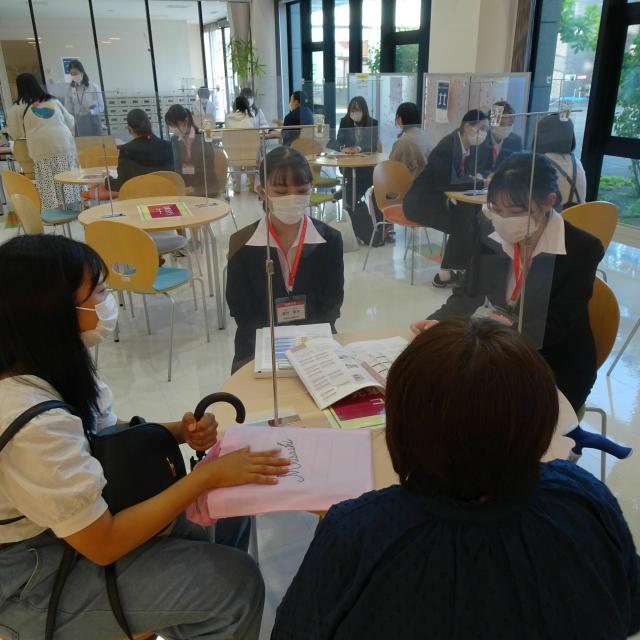 北海道武蔵女子短期大学 第5回キャンパス見学会3