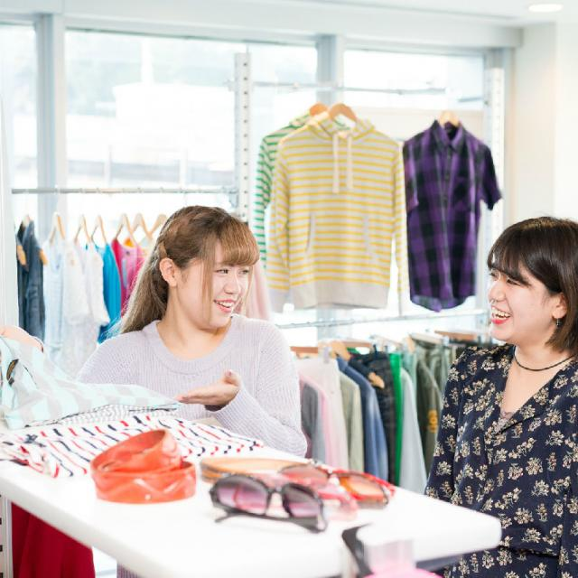 華服飾専門学校 販売スタッフ体験orスカート製作体験2