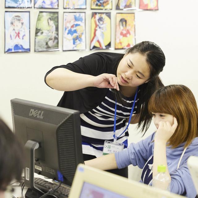 大阪アニメーションカレッジ専門学校 夏休みは体験授業へ♪保護者と参加もOK!プロの先生の体験授業1