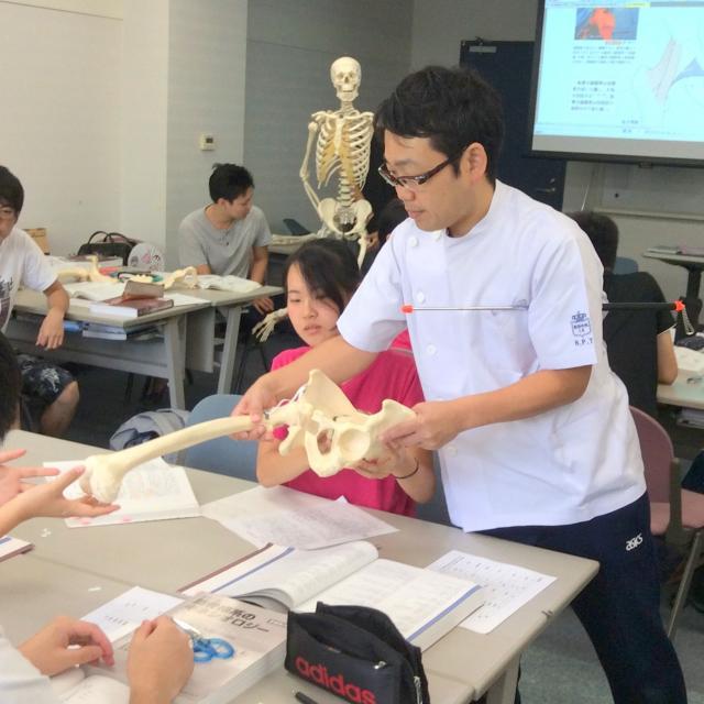 阪奈中央リハビリテーション専門学校 体験授業4