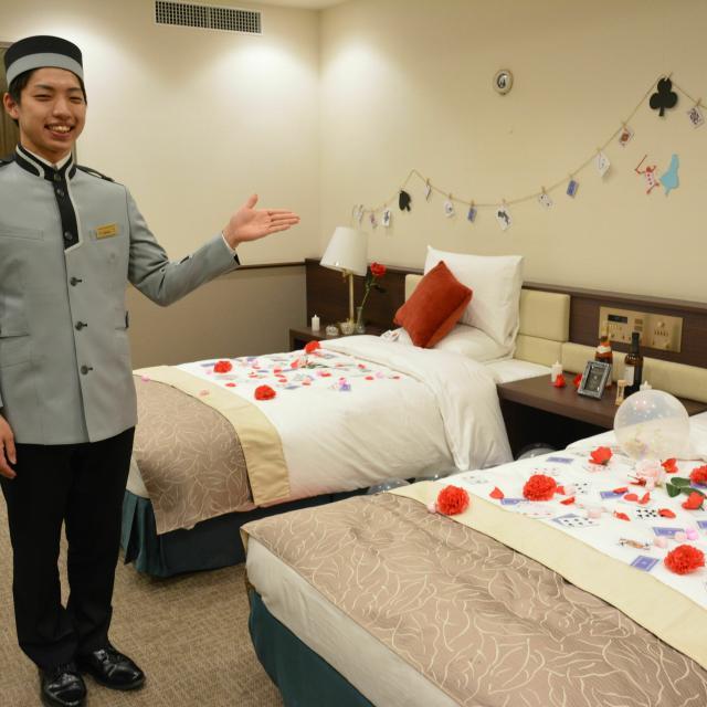 駿台トラベル&ホテル専門学校 ホテル学科卒業研究発表「SUNDAI FEST」3