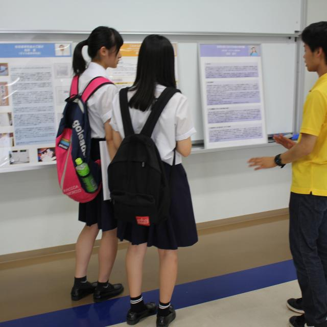 【子ども教育学科】夏のオープンキャンパス(特別講座参加なし)