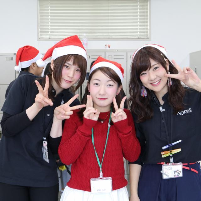 名古屋理容美容専門学校 男性共に盛り上がる!クリスマスイベント!3