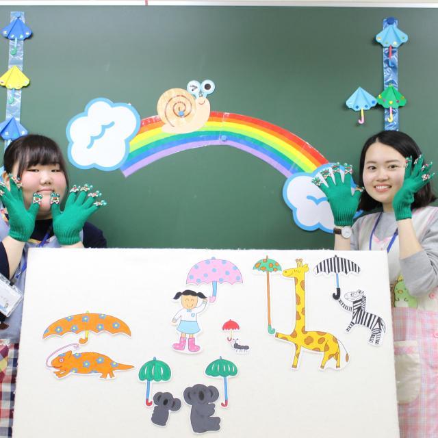 仙台幼児保育専門学校 保育技術で子どもの注目の的に!オープンキャンパスbasic2