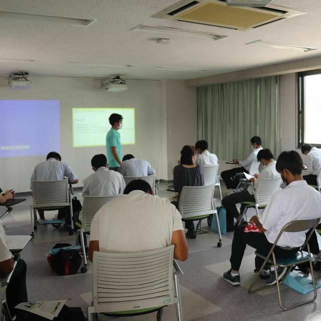 徳山大学 【徳山大学】オープンキャンパス20214