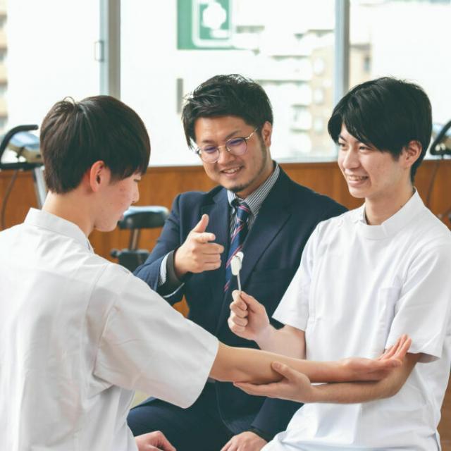 東海医療科学専門学校 【理学療法科】オープンキャンパス2