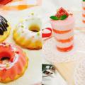 華調理製菓専門学校 デコレーションドーナツ&ベリーティラミス