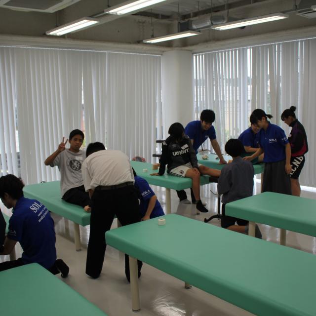 SOLA沖縄保健医療工学院 柔道整復師学科4