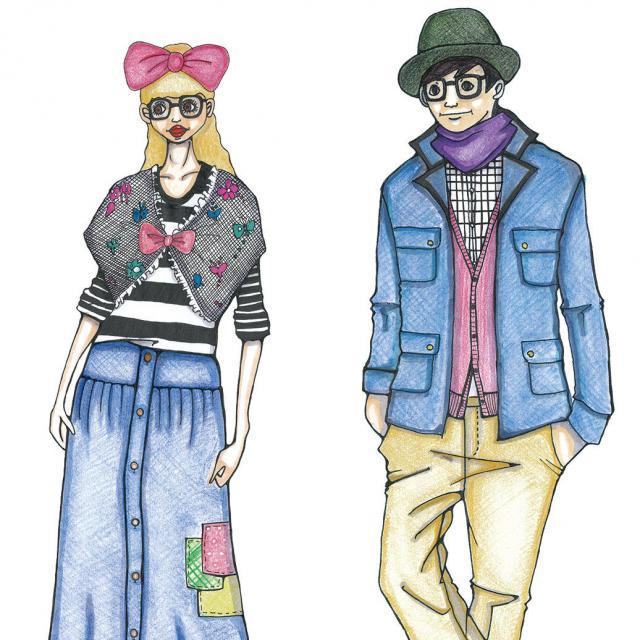 専門学校 九州デザイナー学院 3月の体験入学(ファッション)1