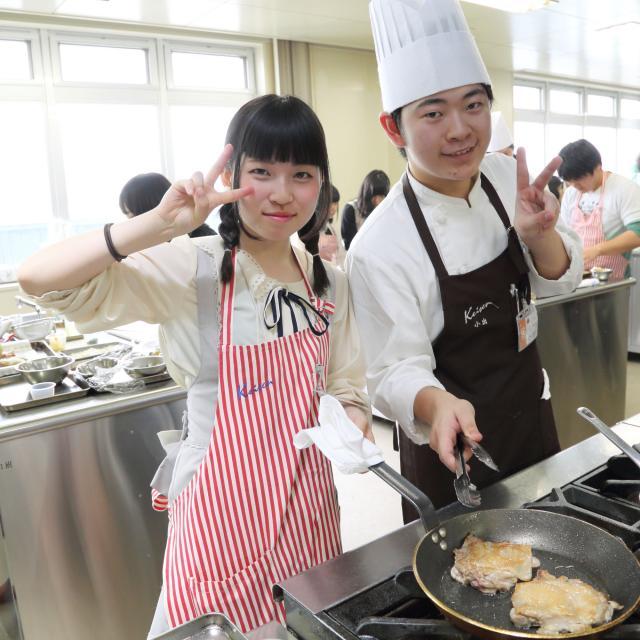経専調理製菓専門学校 日曜日のオープンキャンパス♪2