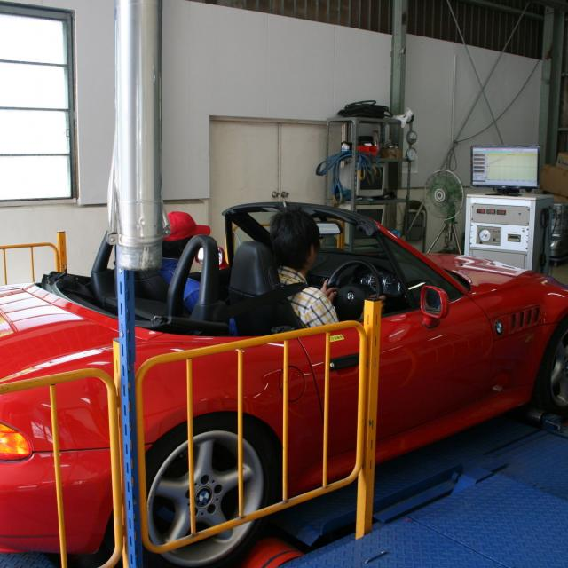 自動車燃費測定実験の体験