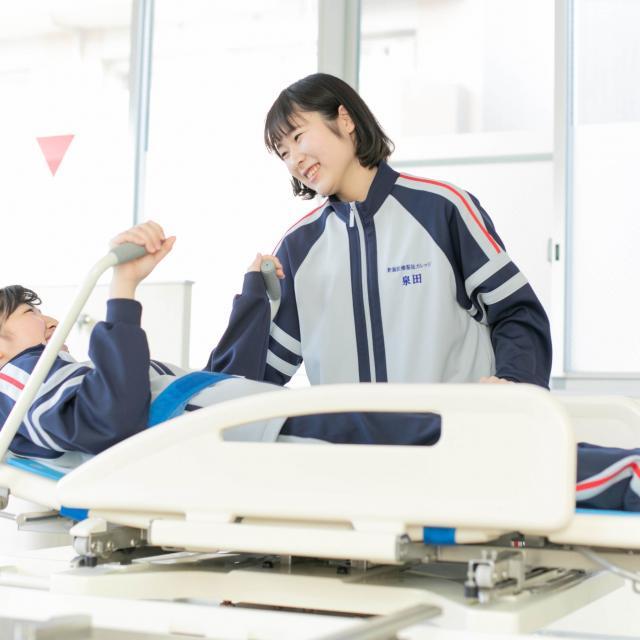 新潟医療福祉カレッジ 【介護】新潟駅チカ!ifで介護の楽しさにふれよう♪4