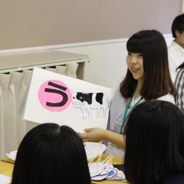 仙台幼児保育専門学校 保育技術で子どもの注目の的に!オープンキャンパスbasic3