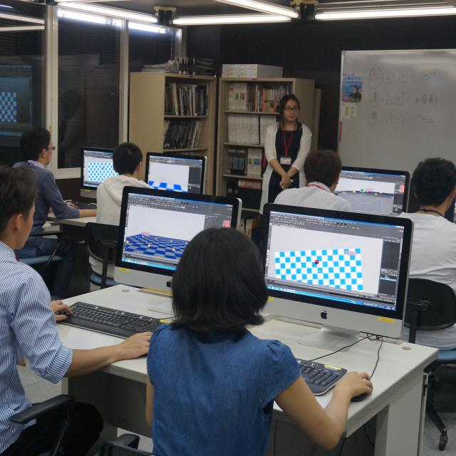 吉田学園情報ビジネス専門学校 【CG学科】オープンキャンパス2