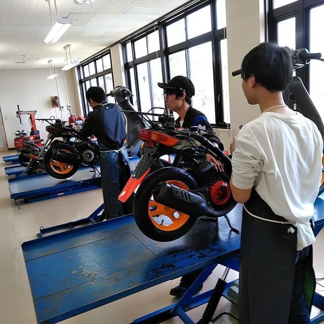 阪神自動車航空鉄道専門学校 バイクのプロによるバイク好きのためのオープンキャンパス!3