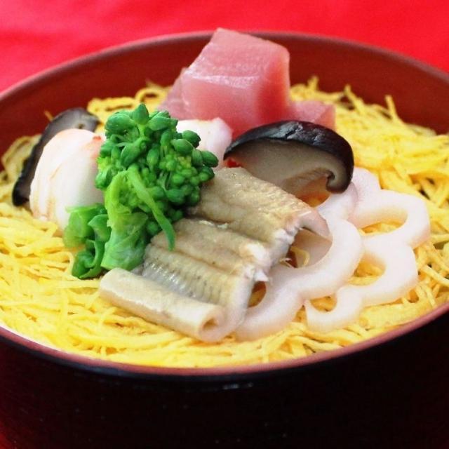 名古屋調理師専門学校 ひな祭り。豪華ちらし寿司で!1