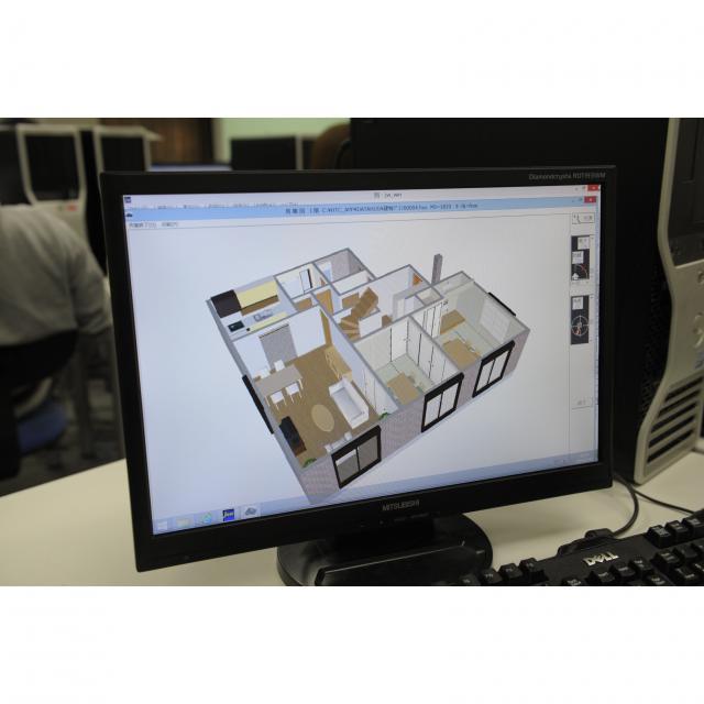 東海工業専門学校金山校 A:住宅設計コース1