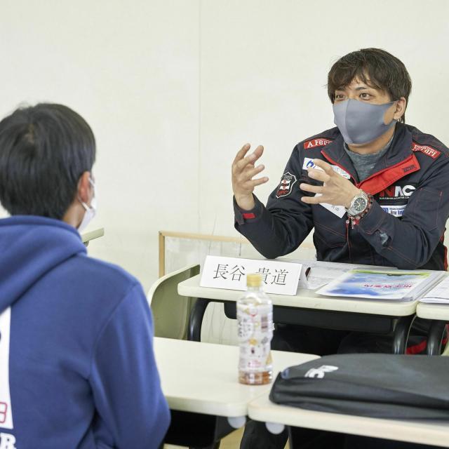 中日本自動車短期大学 専門学校との違いを知ろう!NACのオープンキャンパス3
