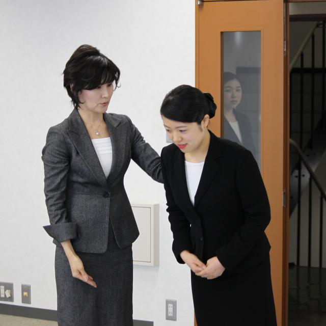 大阪外語専門学校 エアライン 空の仕事フェア2