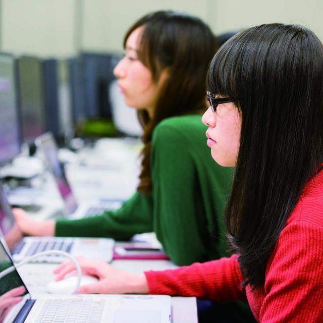 日本デザイナー学院 モーショングラフィックスをつくろう!1