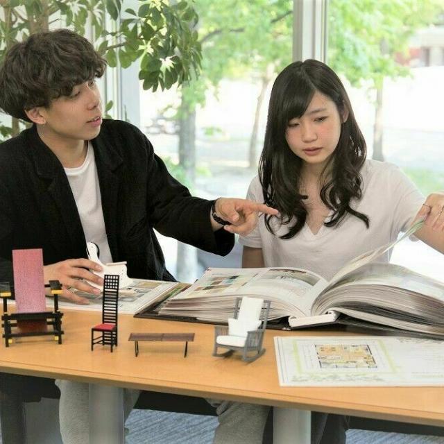 専門学校 札幌デザイナー学院 ≪インテリア空間ディスプレイ専攻≫使える「空間の演出方法」1