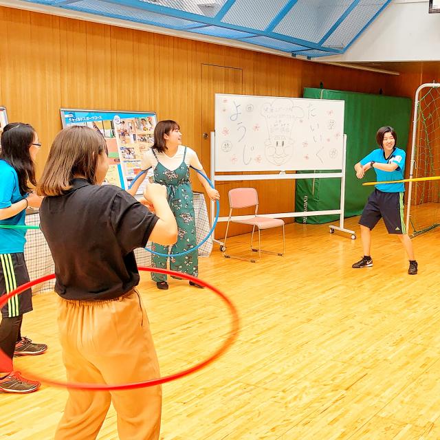福岡リゾート&スポーツ専門学校 【こどもスポーツ体験】こどもが喜ぶ楽しいレクリエーション☆1