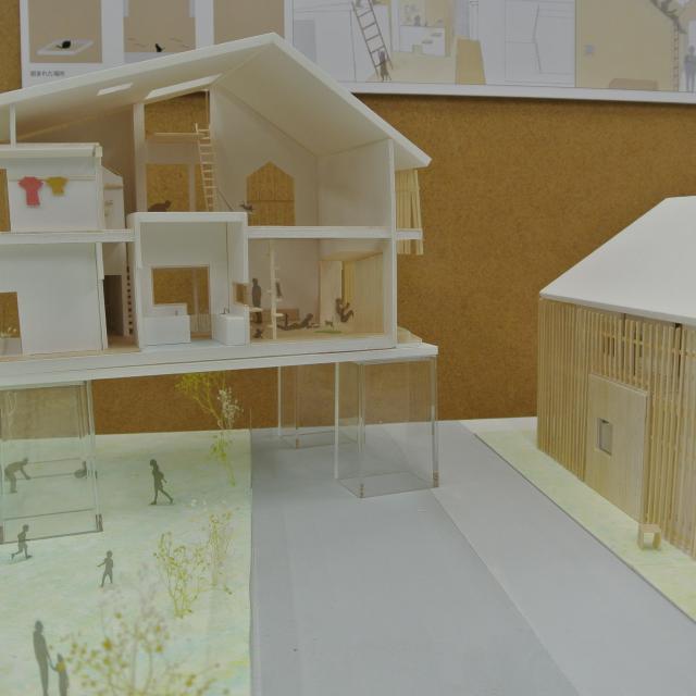フェリカ建築&デザイン専門学校 けやきウォーク開催!!建築&インテリア作品展3