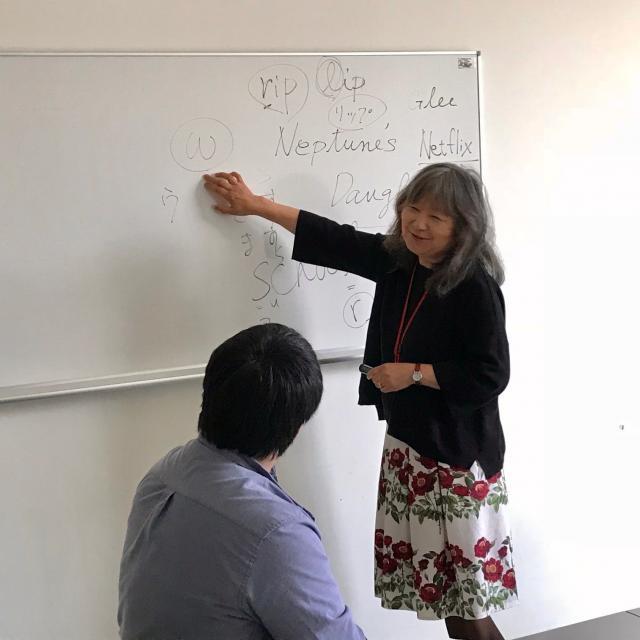日本映画大学 高校生のための春期ワークショップ2
