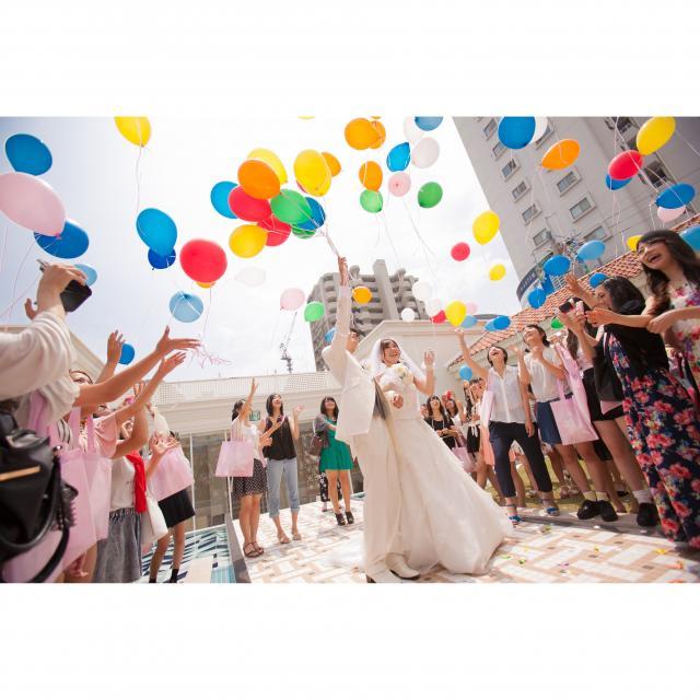 専門学校名古屋ウェディング&フラワー・ビューティ学院 模擬結婚式&披露宴2
