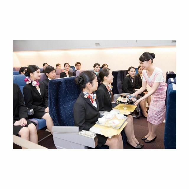 大阪航空専門学校 [ エアライン学科 ]客室乗務員/グランドスタッフを体験!1