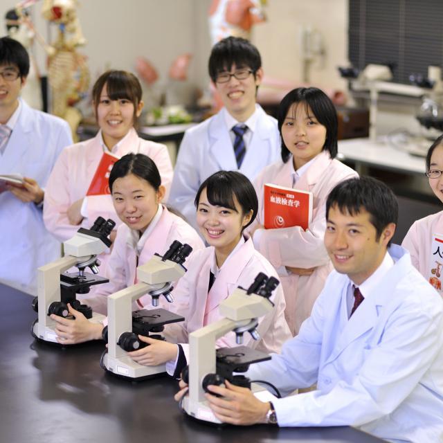 西武学園医学技術専門学校 オープンキャンパス(臨床検査技師科)顕微鏡マスター3