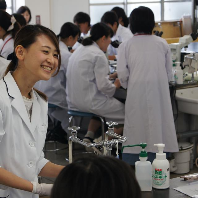 専門学校 東洋公衆衛生学院 体験入学 臨床検査技術学科4
