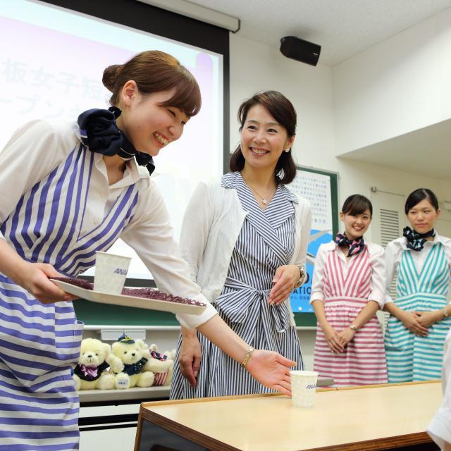 戸板女子短期大学 戸板女子の年間オープンキャンパス4