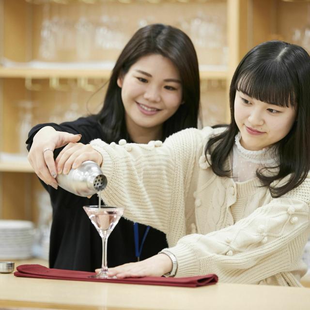 トライデント外国語・ホテル・ブライダル専門学校 オープンキャンパスーじっくりDAYー1