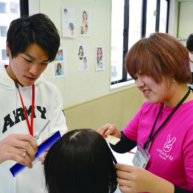 福岡美容専門学校 福岡校 資生堂プロフェッショナル HAIR MAKEUP LIVE3