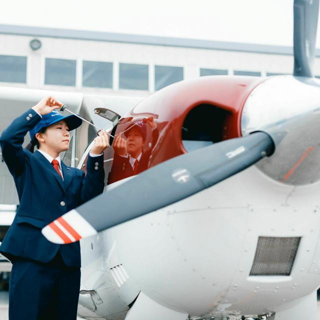 日本航空大学校 操縦科オープンキャンパス!4
