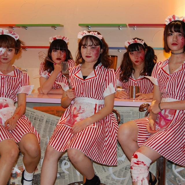 名古屋ファッション・ビューティー専門学校 ハロウィンメイクで盛り上がろう!2