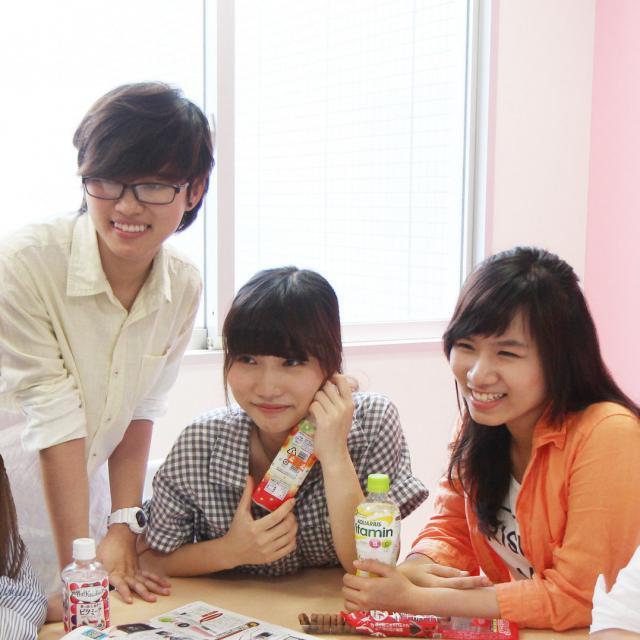 あいちビジネス専門学校 H:留学生のための授業体験3