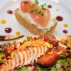大阪調理製菓専門学校ecole UMEDA 【製菓】桃のミルフィーユ