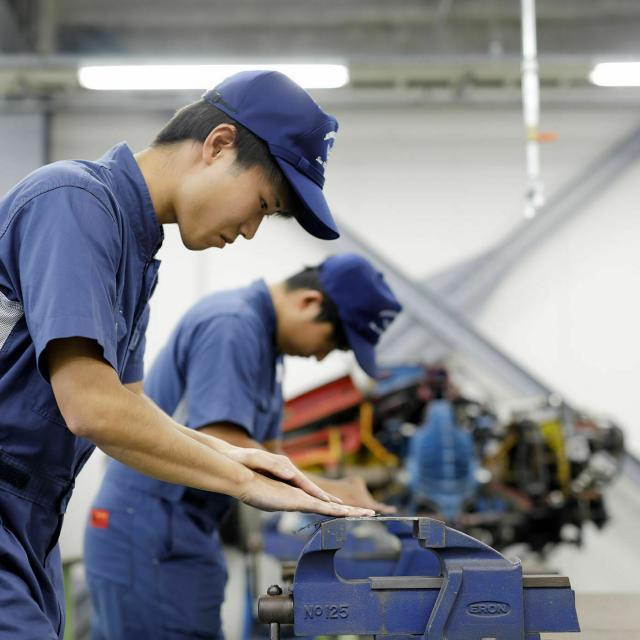 日本航空大学校 石川 能登空港キャンパス 航空整備技術科オープンキャンパス!3