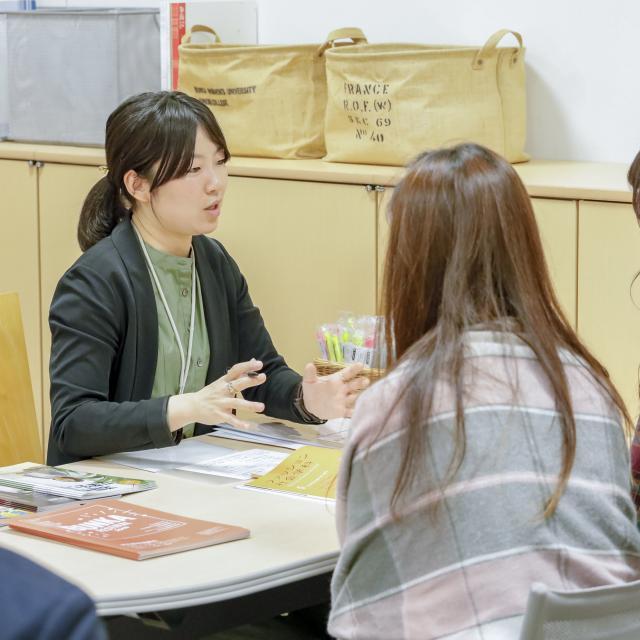 文化学園大学短期大学部 文化祭×進学相談会4