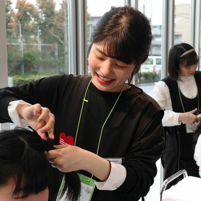 京都理容美容専修学校 全ての美容を体験!トータルビューティ★スペシャルオーキャン!3