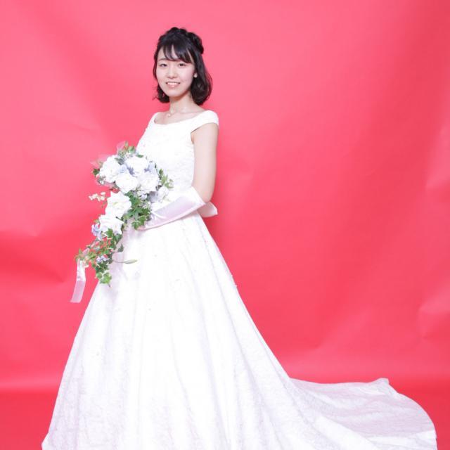 たかの友梨美容専門学校 ウェディングドレスを着てブライダル撮影part.1♪1